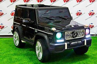 """Детский электромобиль Mercedes Brabus """"VIP"""" G65 AMG (Лицензия), черный"""