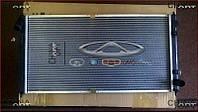 Радиатор охлаждения, 480EF, 477F, сотовый, Chery Amulet [до 2012г.,1.5], Аftermarket