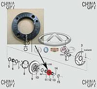 Гайка передней ступицы, Great Wall Hover [H2,2.4], 3001102-K00, Original parts