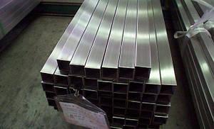 Труба нержавеющая квадратная 150х150х3 aisi304, фото 2