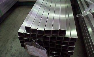 Труба нержавеющая квадратная 150х150х4 aisi304, фото 2