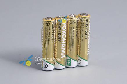 Батарейка R3(минипальчик) 1.5V HEAVY DUTY(солевая) YOKOHAMA, фото 2