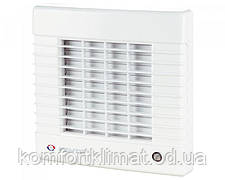 Вентилятор осевой Вентс 125 МА, вентилятор с автоматическими жалюзями, вентилятор бытовой.