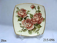 Набор тарелок Lefard Корейская роза 23 см 6 предметов, 215-096