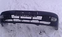 Бампер передний черный Nissan Almera N15 1995-2000г.в.