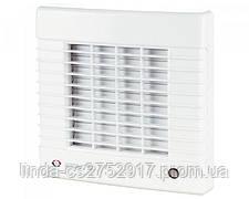 Вентилятор осевой Вентс 150 МА, вентилятор с автоматическими жалюзями, вентилятор бытовой.