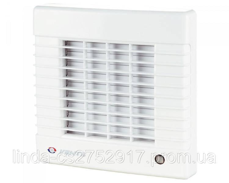 Вентилятор осевой Вентс 100 МАЛ, вентилятор бытовой,вентилятор с автоматическими жалюзями.