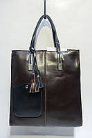 Женская кожаная сумка Galanty 10318В coffee