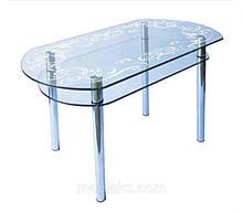 Столи обідні скляні (кухонні)