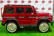 """Детский электромобиль Mercedes Brabus """"VIP"""" G65 AMG (Лицензия), красный, фото 3"""