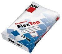 Эластичный клей для плитки Baumit FlexTop, 25 кг