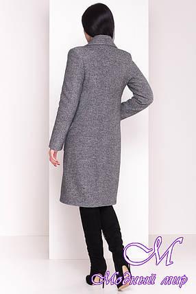 Женское длинное зимнее шерстяное пальто (р. S, М, L) арт. Габриэлла 4224 - 20836, фото 2