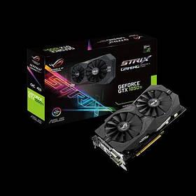 Видеокарта Asus GeForce GTX 1050 ROG Strix OC 2GB (STRIX-GTX1050-O2G-GAMING)