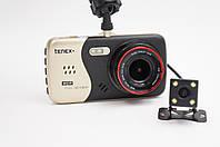 Видеорегистратор на 2 камеры Tenex Doublecam D1