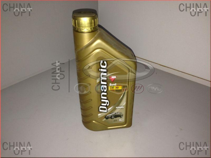 Масло синтетическое, 1 литр,  Synthetic, Synt 5W30, Dynamic
