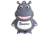 Флешка, Подарочный Smartbuy USB 8Gb Бегемот, USB накопитель