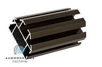 Профиль алюминиевый для производства многосекционных витрин и прилавков 2633, фото 1