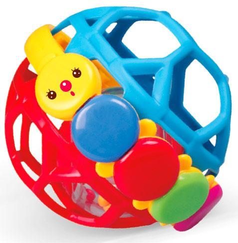 Погремушка Гибкий мяч, BeBeLino