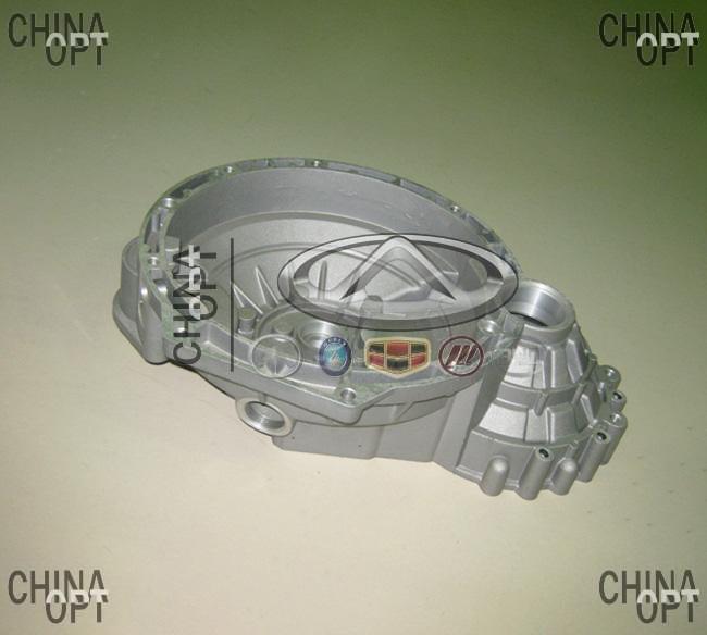 Корпус КПП, колокол, 480EF, Chery Amulet [1.6,до 2010г.], 015301107AA, Original parts