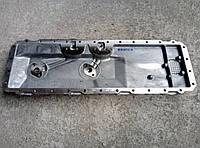 Крышка (основание) теплообменника масляного радиатора ТАТА Эталон I-Van E-2 (пр-во Индия)