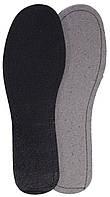 Летние стельки «Кожкартон+Кожа (черная)», р-р 36