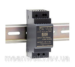HDR-30-5 Блок питания на Din-рейку Mean Well 15вт, 5в, 3A