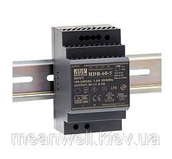 HDR-60-5 Блок питания на Din-рейку Mean Well 32.5вт, 5в, 6,5А