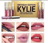 Набор жидких матовых помад Kylie Birthday Edition 6 шт, 3.25 мл, фото 1