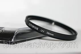 Ультрафіолетовий захисний світлофільтр UV CITIWIDE 58 мм