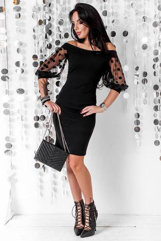 Приталенное женское платье , фото 2