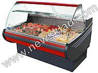 Холодильная кондитерская витрина со встроенным агрегатом Muza 1.0