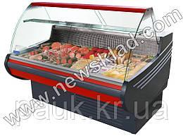 Холодильна кондитерська вітрина Muza 1.0 середньотемпературна