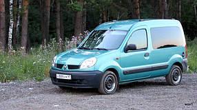Установка (врезка) автостекол на автомобиль Renault Kangoo 96-08 (Рено Кангу)