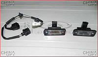 Подсветка номерного знака, 2шт., комплект, Chery Elara [до 2011г, 1.5], A21-3717010, Original parts