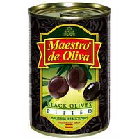 Маслины Маэстро Испания без косточки 280гр*24
