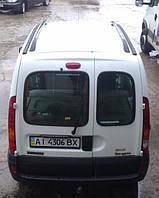 Заднее стекло (распашонка левая) без э. о. без шелкографии под уплотнитель на Renault Kangoo 96-08 (Рено Кангу