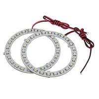 12V белый ангельские глазки фары для BMW 24SMD LED кольцо света автомобиля