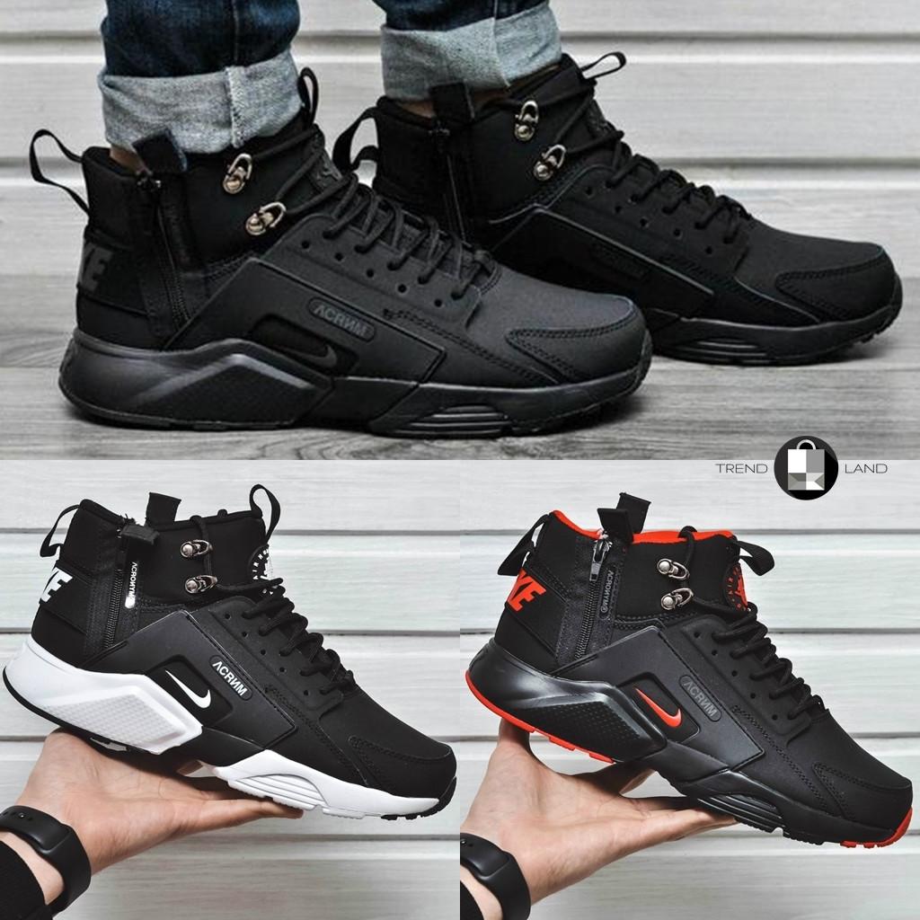 21e8fb619 Мужские кроссовки Nike Huarache Acronym Concept 3 цвета в наличии (Реплика  AAA+) - Интернет