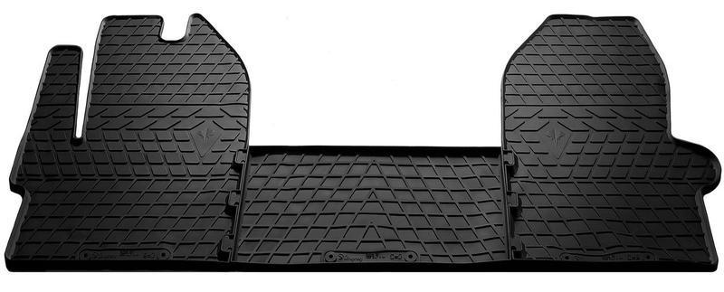 Килимки в салон для Iveco Daily VI 14- (design 2016) (комплект - 3 шт) 1035033