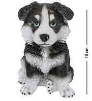 """Статуэтка собачки 16 см """"Щенок хаски"""" собака символ 2018 года"""