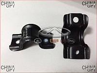 Скоба крепления втулки переднего стабилизатора, Geely CK2, 1400579180-01, Original parts