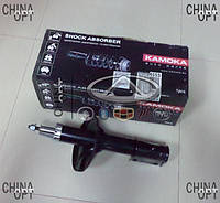 Амортизатор передний, левый / правый, газомасляный, Chery Elara [1.5, до 2011г.], Kamoka