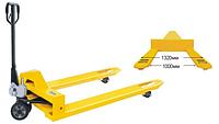 Skiper SKF25 1м Profi ручные гидравлические тележки для паллет, г/п 2500 кг