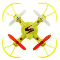 Квадрокоптер нано р/у 2.4Ghz WL Toys V646-A Mini Ufo (желтый, синий, зелёный)