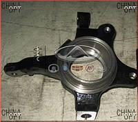 Поворотный кулак правый, без ABS, Geely CK1F [с 2011г.], 3501201180, Aftermarket