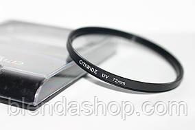 Ультрафиолетовый защитный UV cветофильтр CITIWIDE 72 мм