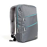 """Рюкзак для ноутбука Kingsons KS3037W, 14.1"""", серый"""