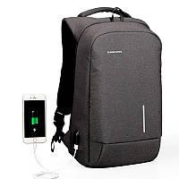 """Рюкзак для ноутбука Kingsons KS3149W, 15.6"""", темно-серый"""