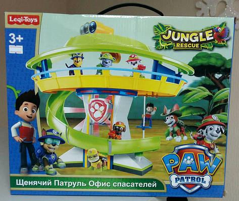 Игровой набор Офис спасателей, Щенячий патруль, Jungle Rescue