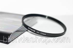 Ультрафиолетовый защитный UV cветофильтр CITIWIDE 77 мм